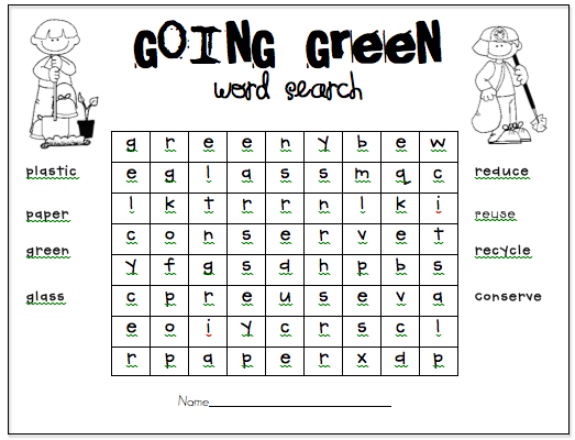 Recycling Worksheets For Elementary Students The Best Worksheets