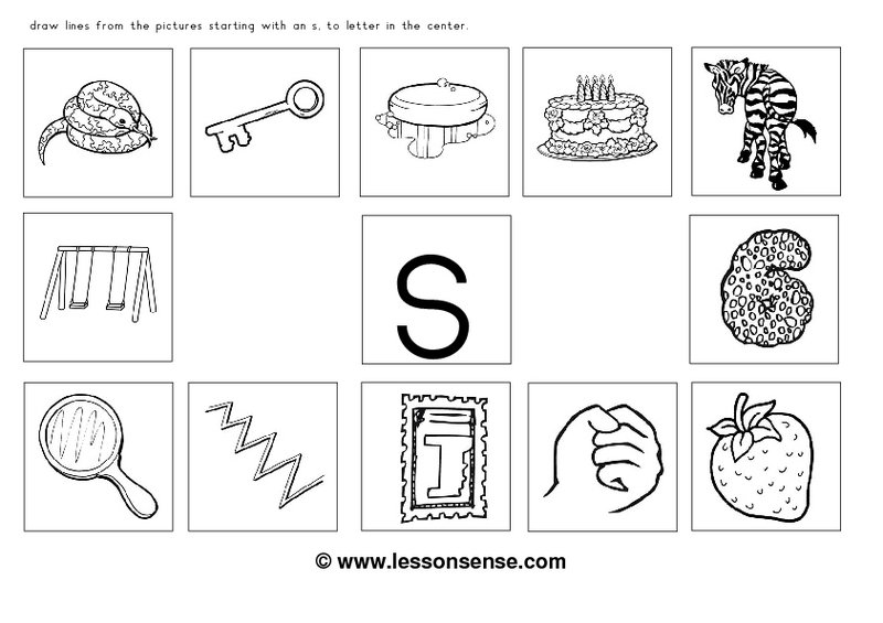 S Sound Worksheets The Best Worksheets Image Collection