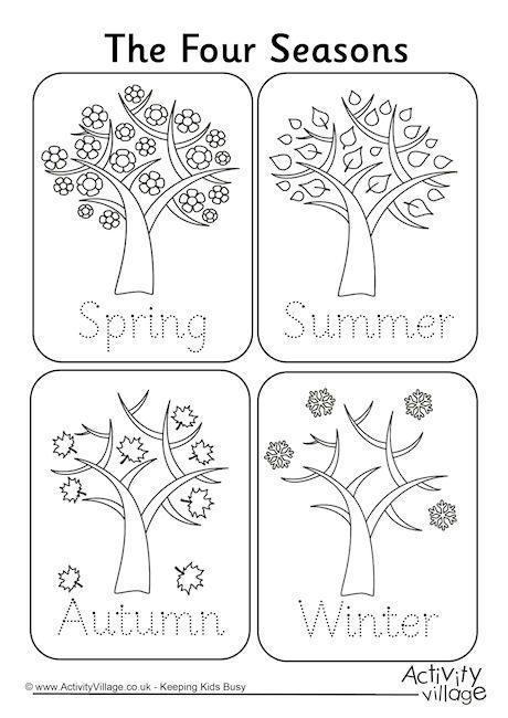 Seasons Worksheets For Kindergarten 106 Best School Seasons Images