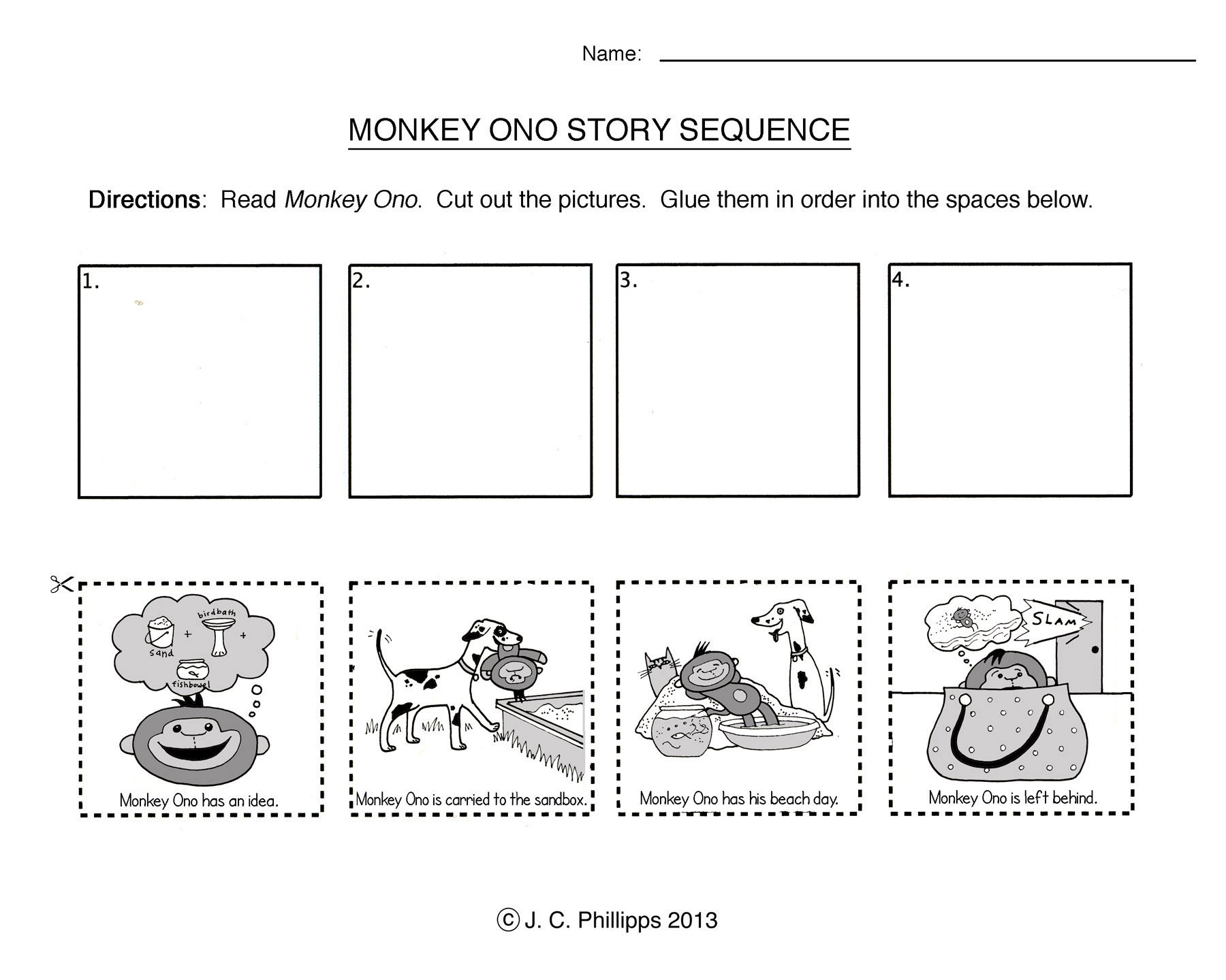 Sequencing Story Worksheets 290919