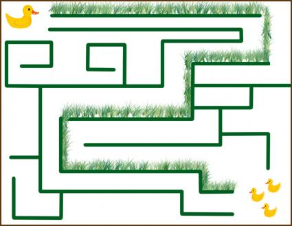 Simple Printable Mazes For Children