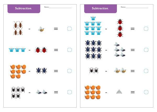 Subtraction Worksheets Ks1 Twinkl The Best Worksheets Image