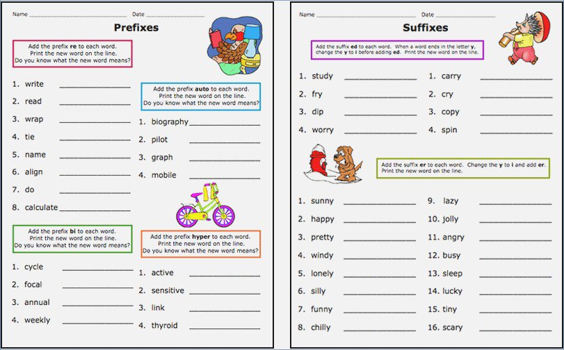 Suffix Worksheet 3rd Grade The Best Worksheets Image Collection