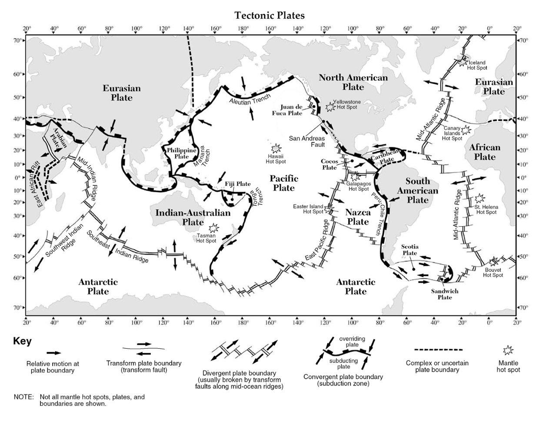Tectonic Plate Worksheet 848787
