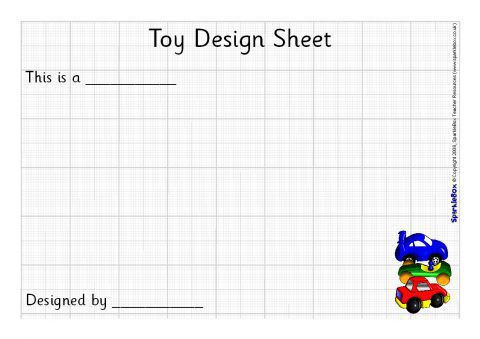 Toy Design Sheets (sb1183)
