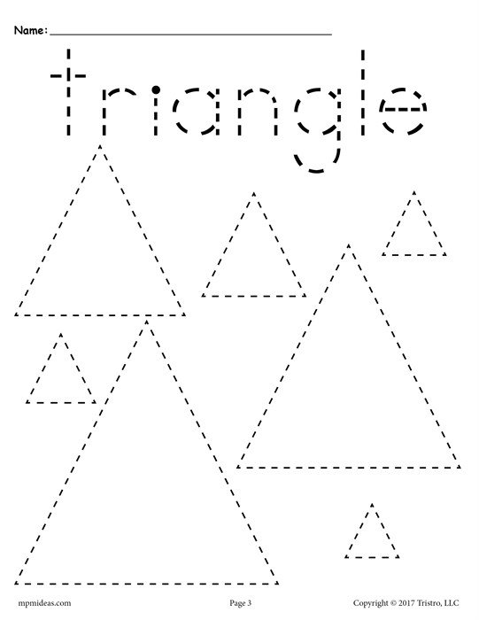 Triangle Worksheets Of Triangles Worksheets Free