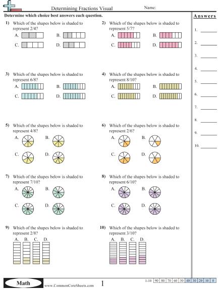 Visual Multiplication Worksheets For Grade The Best Worksheets