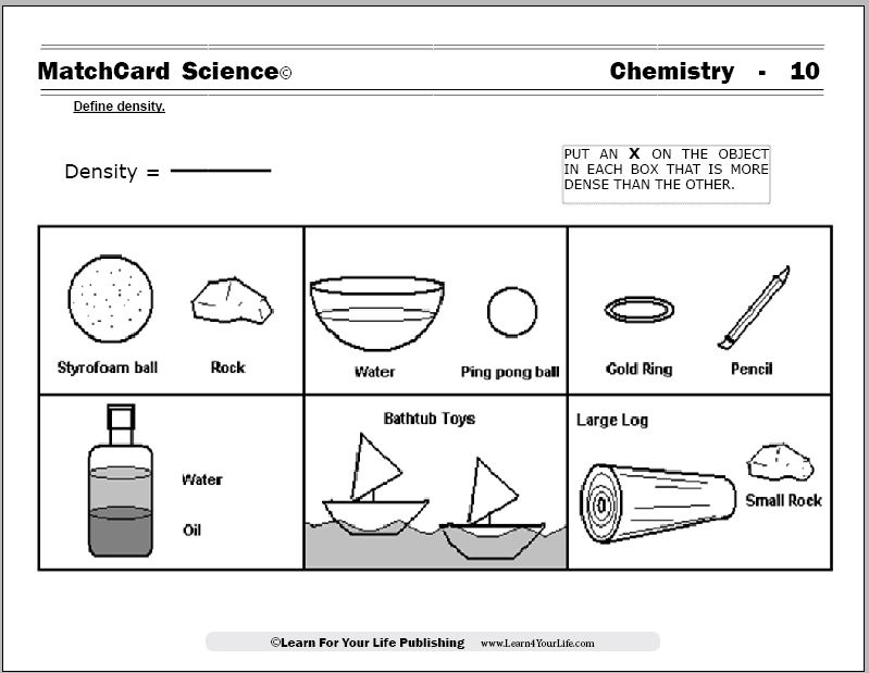 Water Chemistry Worksheet 1009336