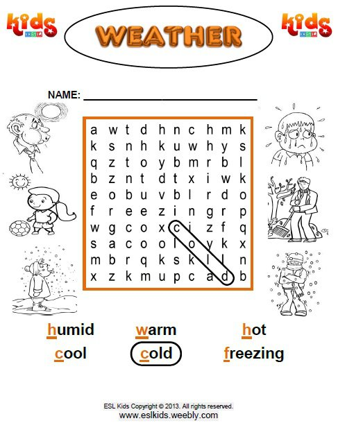 Weather Worksheets Elementary The Best Worksheets Image Collection