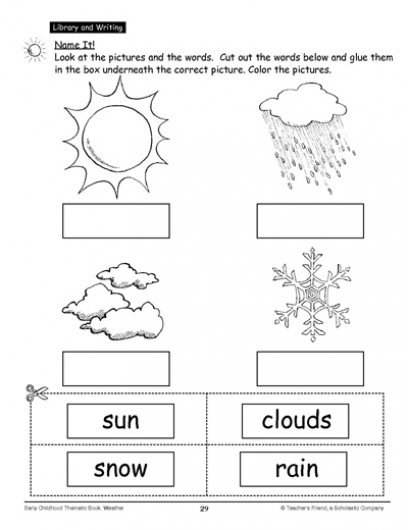Weather Worksheets First Grade The Best Worksheets Image