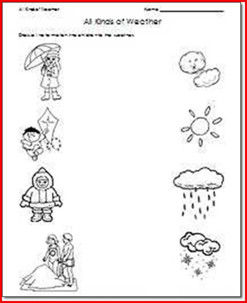 Weather Worksheets For First Graders The Best Worksheets Image