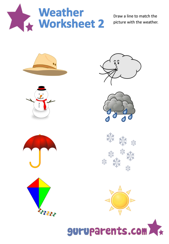 Weather Worksheets Free 512133
