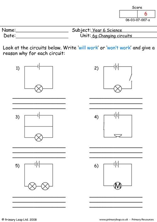 Wiring Diagram Worksheet