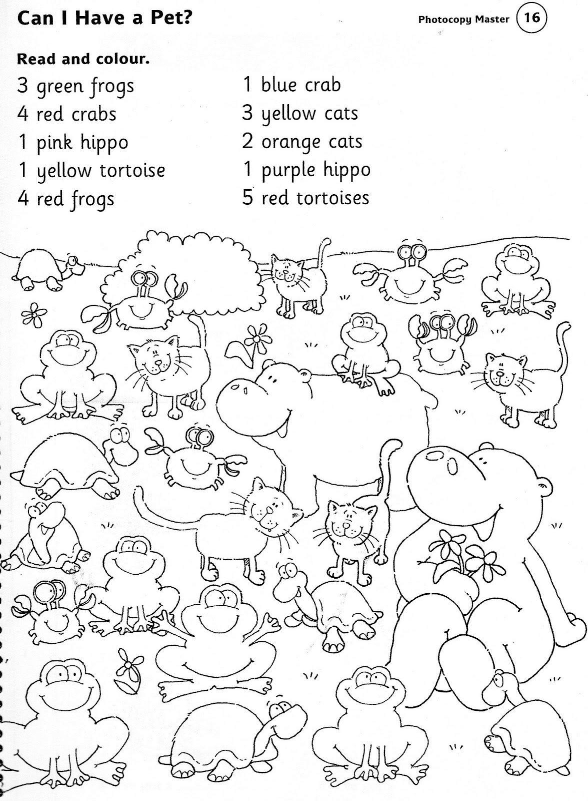 Worksheet Animals For Preschool 5217