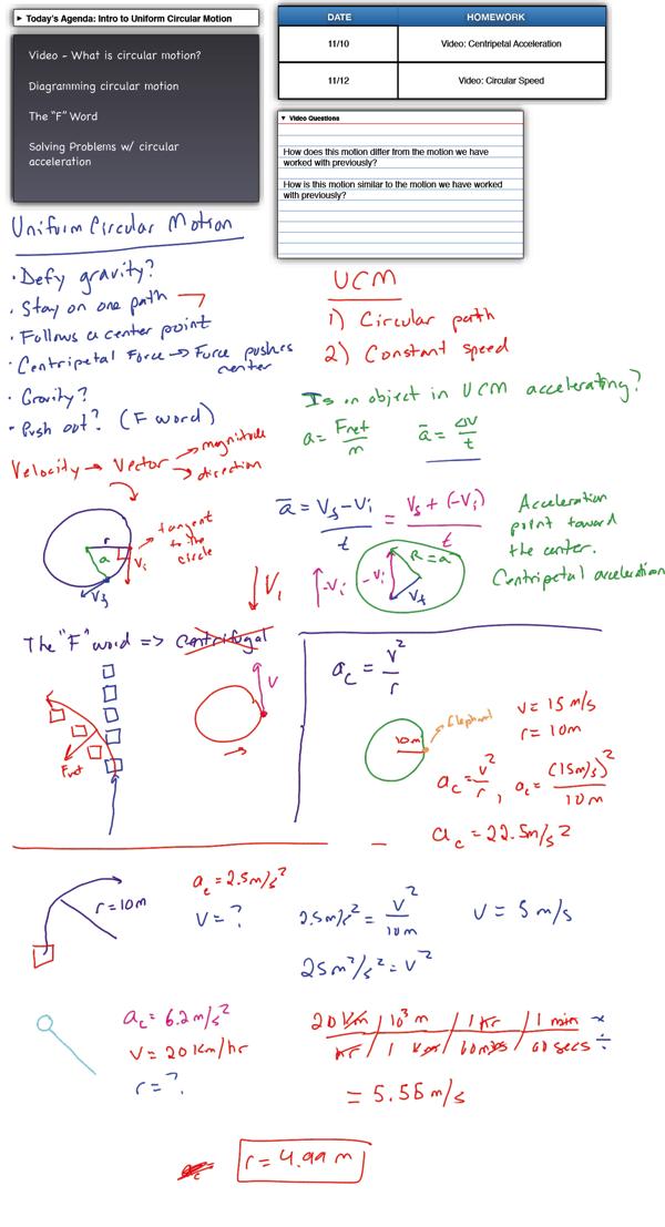 Worksheet Uniform Circular Motion Answers 318073