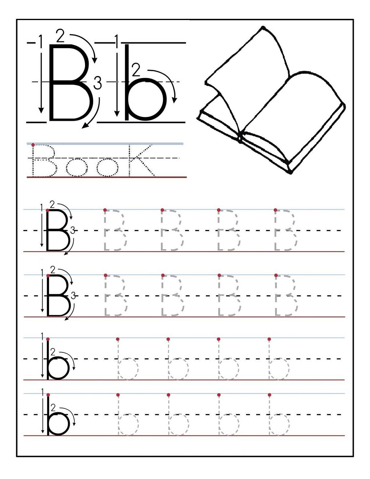 Worksheets For Preschool Alphabet The Best Worksheets Image