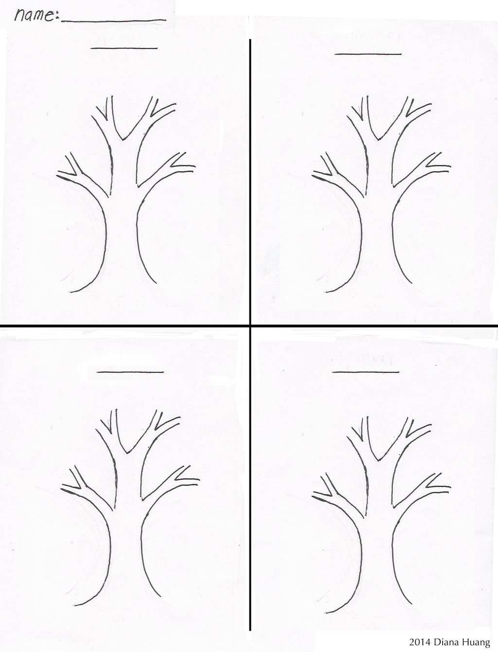 Worksheets Of Seasons In Kindergarten 500430