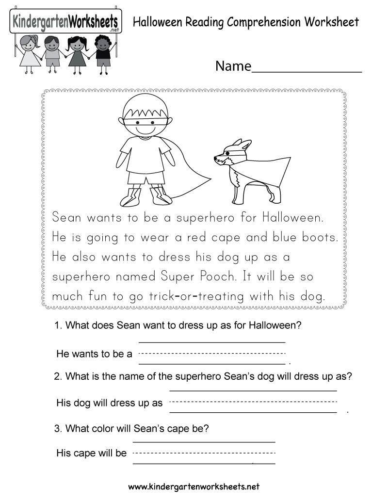 Worksheets On Reading Comprehension The Best Worksheets Image
