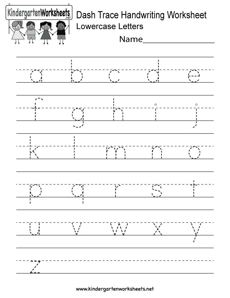 Writing Worksheets Kindergarten The Best Worksheets Image