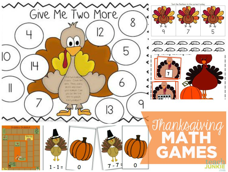 13 Thanksgiving Games And Worksheets For Kids