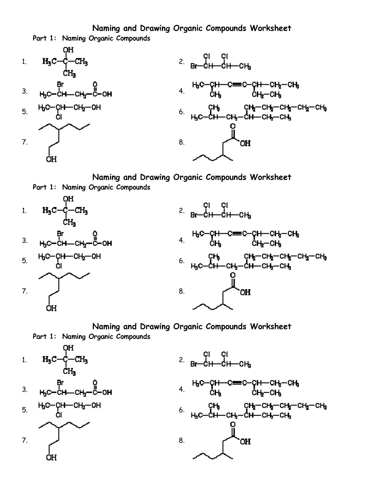 16 Best Images Of Chemistry Naming Compounds Worksheet, Naming