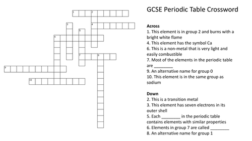 26 Elegant Periodic Table Puzzle Worksheet