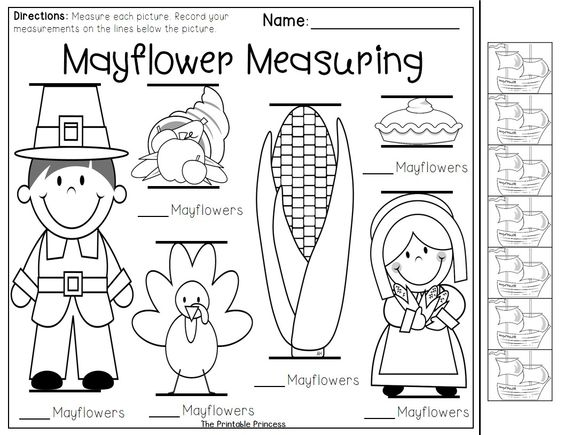 47 Thanksgiving Worksheets For Preschoolers, Free Printable