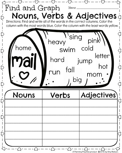 48 Noun And Verb Worksheets, Primaryleapcouk Nouns And Verbs 1