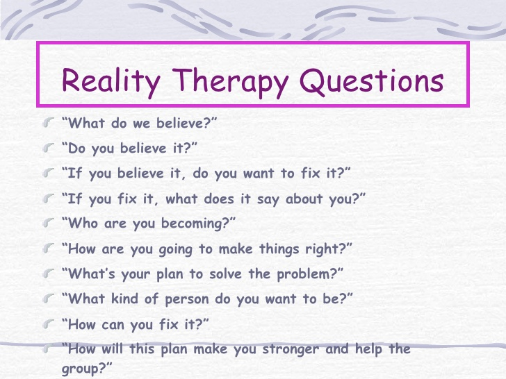 49 Reality Therapy Worksheets, 14 Best Images Of Power And Control