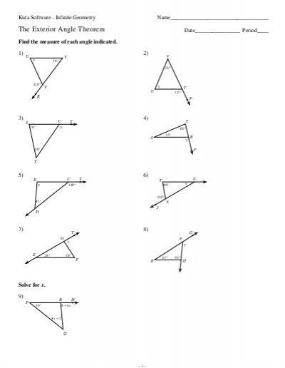 4 The Exterior Angle Theorem (pdf)