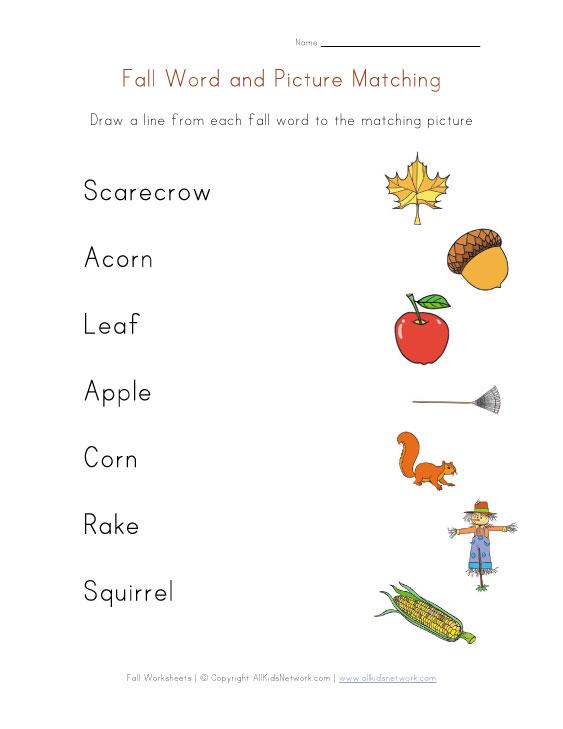 54 Fall Worksheets, Fall Themed Worksheet {free Printable