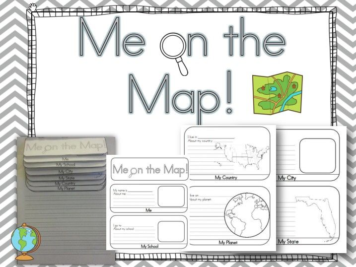 Adorable Map Worksheets For First Graders For Me On The Map