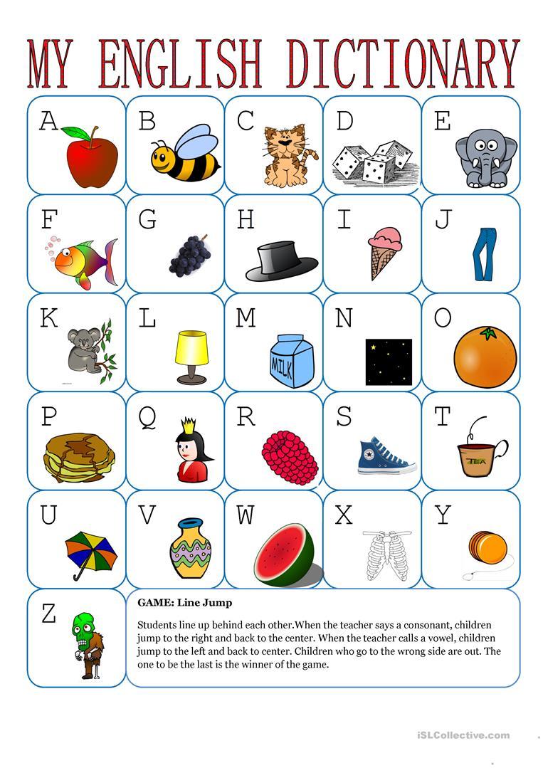 Alphabet Games For Kindergarten Worksheets 31880