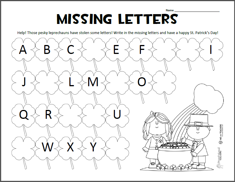 Alphabet Worksheets In English 941536