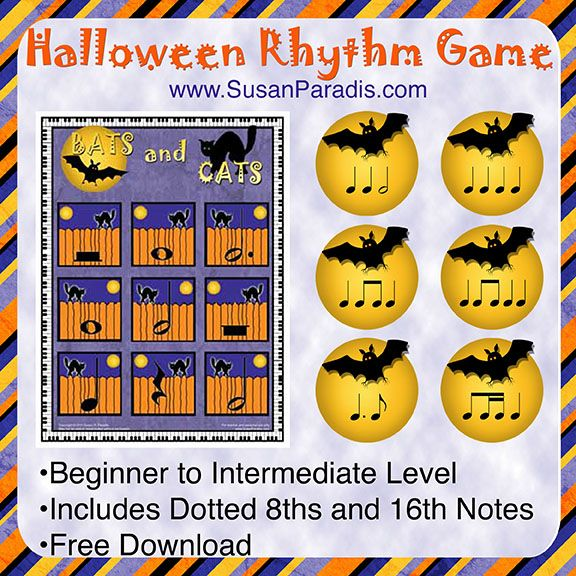 Bats And Cats Rhythm Game