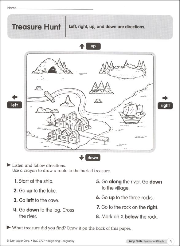 Cardinal Directions Worksheets 3rd Grade The Best Worksheets Image