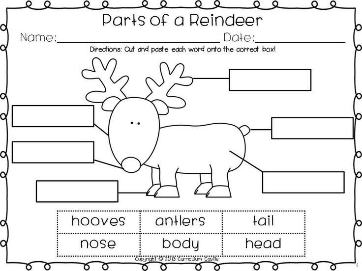 Christmas Reading Worksheets For Kids The Best Worksheets Image