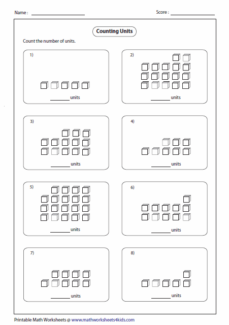 Collection Of Free Printable Tens And Ones Worksheets For