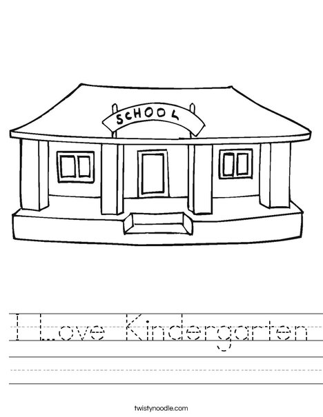 Collection Of My School Worksheets For Preschool