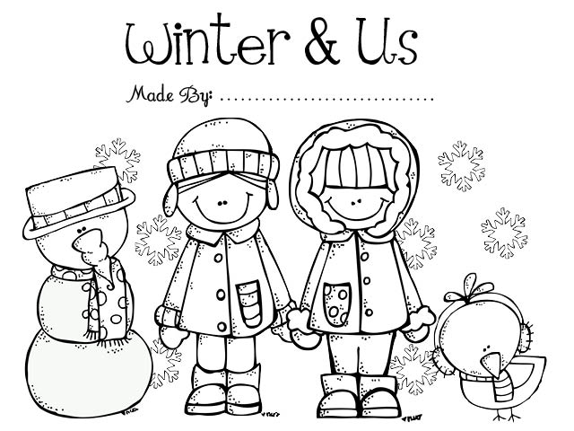 Collection Of Worksheets On Winter For Preschoolers