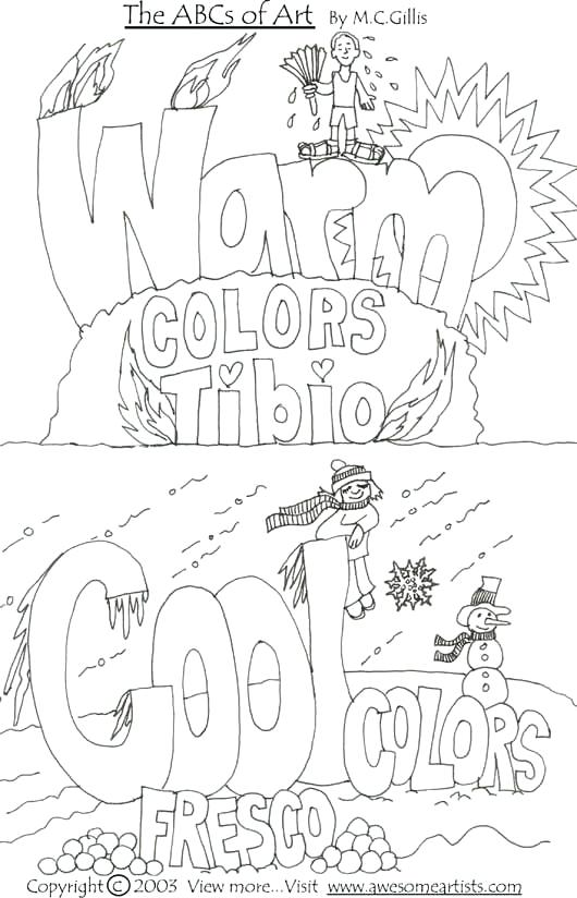Coloring Activities For Elementary Students Best Art Worksheets