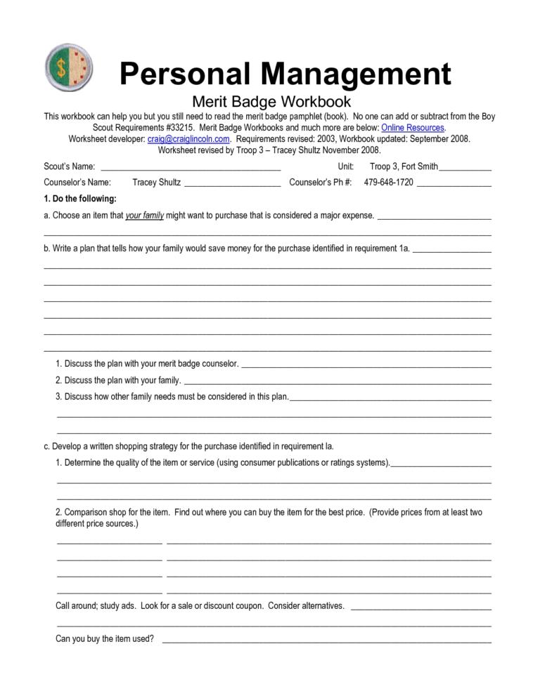 Communication Merit Badge Worksheet Answers 885536   Free ...