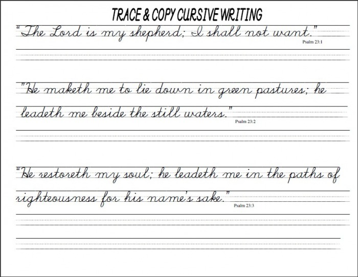 Cursive Handwriting Worksheets Pdf Tecnologialinstante, Cursive