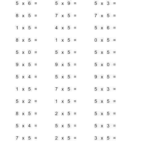 Delighted 0 5 Multiplication Worksheets Images Worksheet Free 36