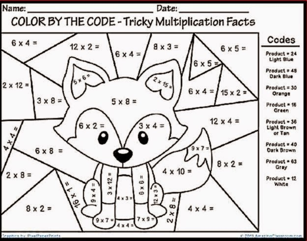 Division Coloring Pages Math Multiplication Coloring Worksheets