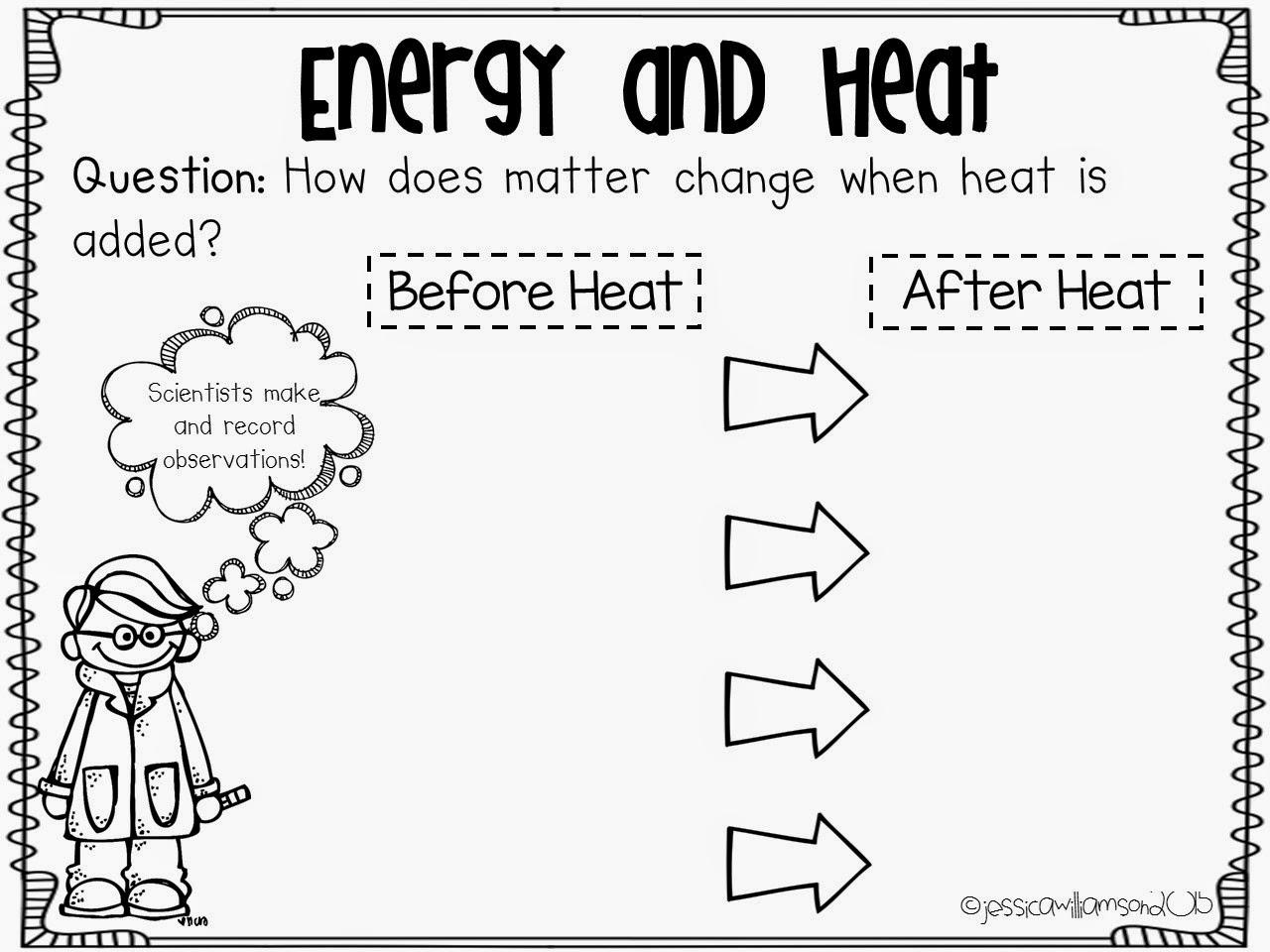 Energy Worksheet For 4th Grade  1183895