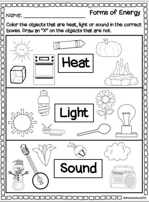 Energy Worksheets For 3rd Grade The Best Worksheets Image