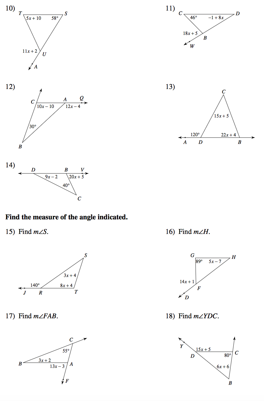 Exterior Angles Worksheet Furthermore Interior Exterior Angles As