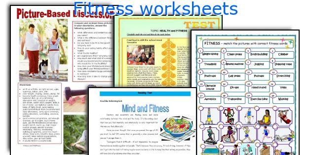 Fitness Worksheets
