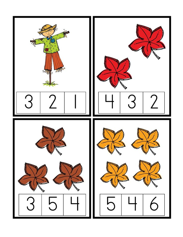Free Fall Worksheets For Preschool 509387